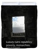 Republics And Monarchies Duvet Cover