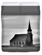 Requiem For An Old Church  Duvet Cover