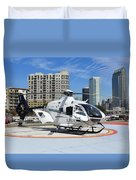 Rescue Helocopter Duvet Cover