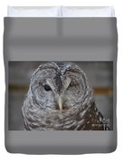 Rescue Owl Duvet Cover
