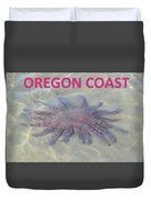 Rescued Sunflower Starfish Duvet Cover
