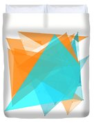 Research Polygon Pattern Duvet Cover