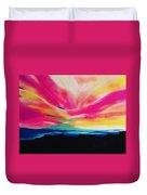 Reservation Sunset Duvet Cover