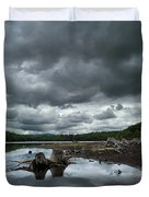 Reservoir Logs Duvet Cover