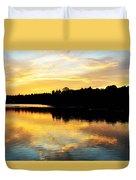 Reservoir Sunset 1 Duvet Cover