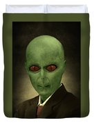Resident Professor Of Interplanetary Research Area 51 Duvet Cover
