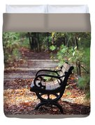 Rest A While Duvet Cover