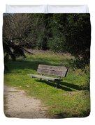 Rest Along The Path Duvet Cover