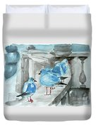 Rest By The Sea Duvet Cover