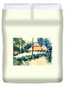 Rest House Duvet Cover