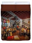 Restaurant Duvet Cover