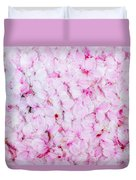 Resting Cherry Blossom Petals Duvet Cover