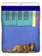Resting In Boca Duvet Cover