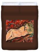 Resting Nude Duvet Cover