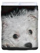 Resting Puppy Duvet Cover