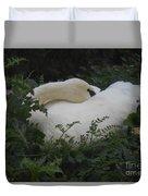 Resting Swan Duvet Cover