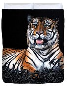 Resting Tiger Duvet Cover