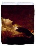 Resting Duvet Cover by Victor Gabriel Gilbert