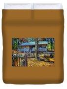 Restored Log Cabin Duvet Cover