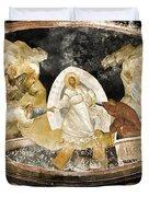 Resurrection Day Duvet Cover