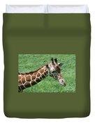 Reticulated Giraffe #3 Duvet Cover