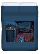 Retired Rusty Mack IIi Duvet Cover