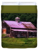 Retired Vermont Farm Duvet Cover