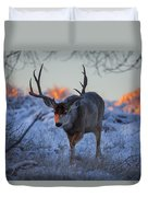 Retreat From The Sunrise Duvet Cover