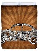 Retro Beetle Car Duvet Cover