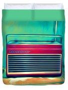 Retro Radio Duvet Cover
