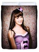 Retro Showgirl Duvet Cover