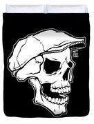 Retro Skull Duvet Cover