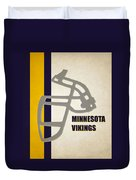 Retro Vikings Art Duvet Cover