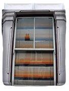 Retro Window Duvet Cover