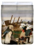 Returning To The Reconquered Land Duvet Cover
