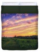 Retzer Nature Center - Summer Sunset #4  Duvet Cover