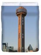 Reunion Tower - Dallas Texas Duvet Cover