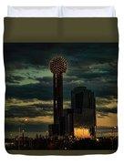 Reunion Tower, Dallas Texas Duvet Cover