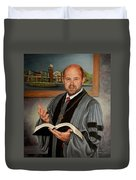 Rev. Jeff Garrison Duvet Cover