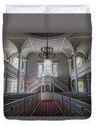 Reverence - Bennington First Church Duvet Cover
