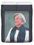 Reverend Mary Gregorius Duvet Cover