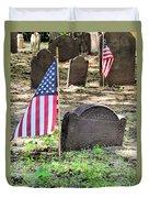 Revolutionary War Veteran Duvet Cover