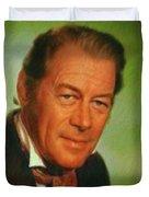 Rex Harrison, Actor Duvet Cover