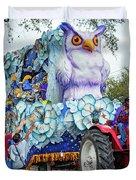 Rex Mardi Gras Parade Iv Duvet Cover