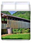 Claycomb Covered Bridge Duvet Cover