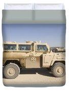 Rg-31 Nyala Armored Vehicle Duvet Cover