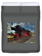 Rhineland-palatinate Locomotive Duvet Cover