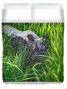 Rhino Charge Duvet Cover