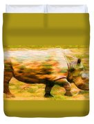 Rhinocerace Duvet Cover