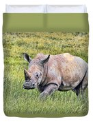 Rhinosceros Duvet Cover